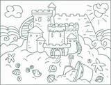 Coloring Sand Castle Sandcastles Bottle Wine Sandcastle Printable Sheets Nicole Getcolorings Preschool Castles Area Sheet Arcs Circumference Activity Kindergarten Perfect sketch template