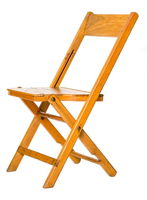 vintage wood folding chair rental a la crate rentals