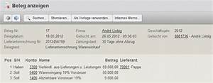 Anzahlung Rechnung : buchen von geleisteten anzahlungen mit der online buchhaltungssoftware collmex verwendung des ~ Themetempest.com Abrechnung