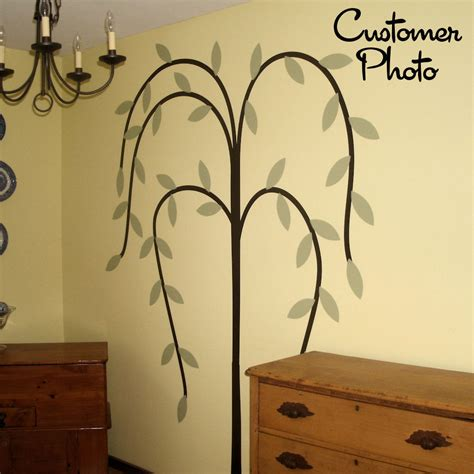 Primitive Willow Tree Wall Decal Country Home Decor Home Decorators Catalog Best Ideas of Home Decor and Design [homedecoratorscatalog.us]