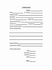 Free Catering Invoice Template Free 6 Catering Receipt Examples Samples In Pdf Doc