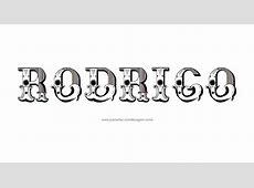 Desenhos de Tatuagem com o Nome Rodrigo