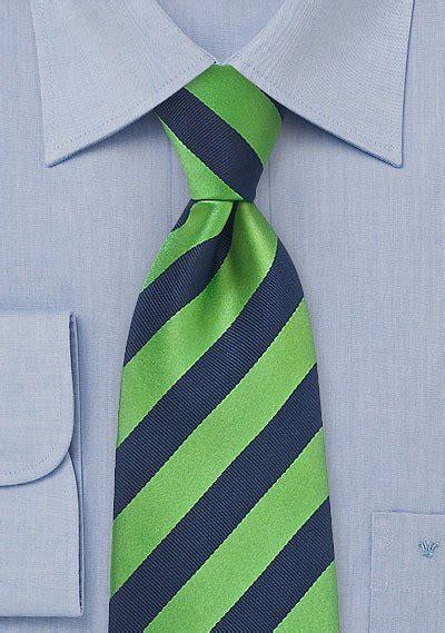 striped tie  navy  green bows  tiescom