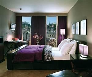 chambre aubergine et blanc 1 conseils pour la With chambre aubergine et blanc