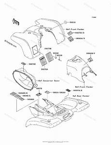 Kawasaki Atv 2000 Oem Parts Diagram For Labels