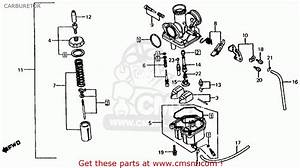 Honda Xl200r 1983  D  Usa Carburetor
