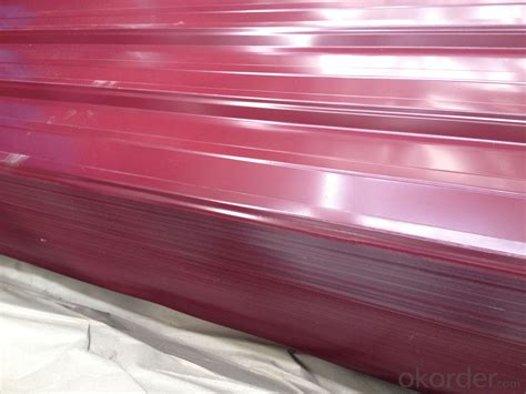corrugated pre painted galvanized steel sheet real time quotes  sale prices okordercom