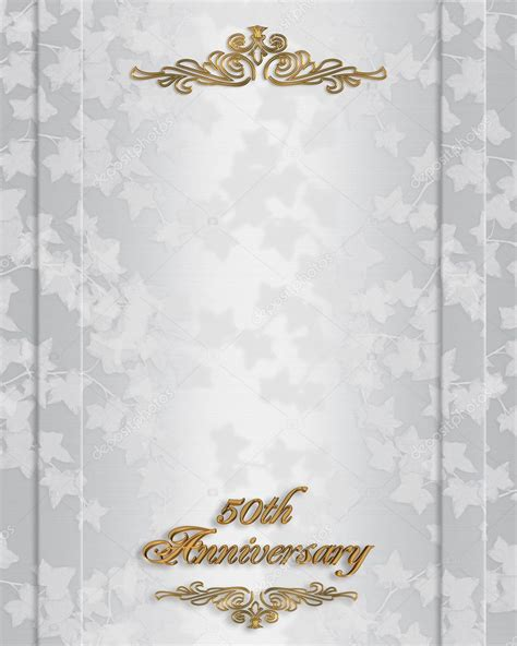 Photos: invites for 50th wedding anniversary 50th