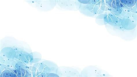 Blue beautiful watercolor ppt backgrounds_Best PowerPoint ...