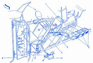 Chevrolet Caprice 1996 Instrument Part Electrical Circuit