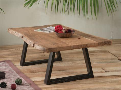 table de cuisine avec rallonges table basse naturel métal et bois meuble house
