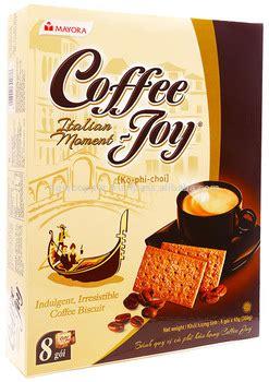coffee joy coffee biscuit box   packs   buy