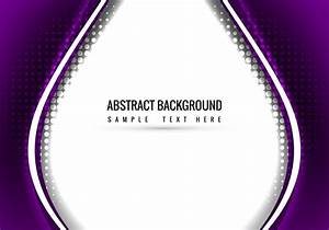 Purple, Vector, Wavy, Background