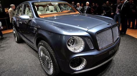 Bentley Unveils Luxury Suv Concept Car