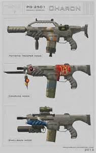 Charon Weapon Concepts