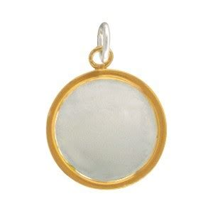 silver  stamping blank  gold batik edge xmm