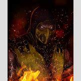 Mortal Kombat X Wallpaper Scorpion | 1024 x 1268 jpeg 282kB