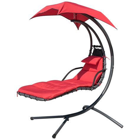 Hammock Lounge Chair by Finether Hanging Chaise Lounge Chair Outdoor Indoor