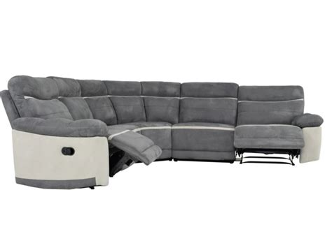 canapé d angle microfibre gris canapé d 39 angle relax microfibre gris ou chocolat antoine