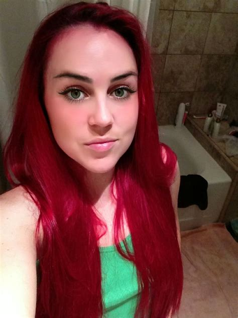 1000 Ideas About Bright Red Hair Dye On Pinterest Best