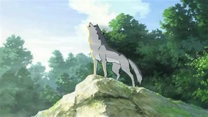 Wolf Ame Children Anime Ending Animated Yuki