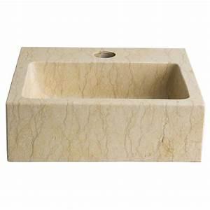 Lave Main Rectangulaire : lave mains rectangulaire pas cher lavabos beige ~ Premium-room.com Idées de Décoration