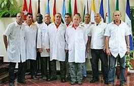 Cuban doctors going to italy