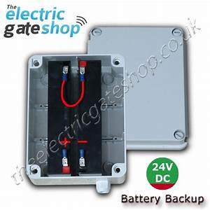 Battery Backup Kit 24vdc
