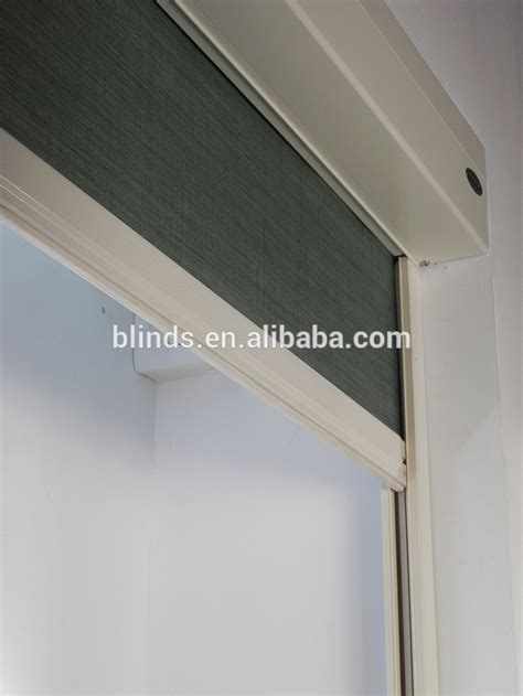motorized curtain track india boxed motorized hotel blackout blinds with side track