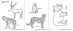 Free Printable Animal Masks Templates Safari Or African Savanna Animals Free Printable