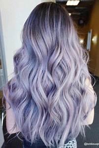 Couleur Cheveux Pastel : couleur cheveux violet pastel coupes de cheveux et coiffures ~ Melissatoandfro.com Idées de Décoration