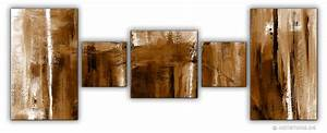 Wandbilder Aus Holz : wandbilder jack dyrell cognac abstrakt in braun kunstdrucke leinwand keilrahmen ~ Frokenaadalensverden.com Haus und Dekorationen