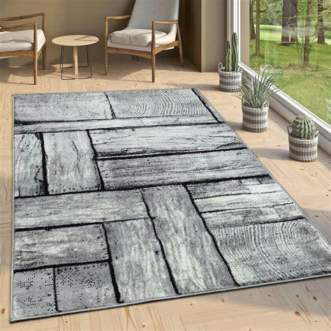 Designer Teppich Grau by Designer Teppich Holz Optik Grau Design Teppiche