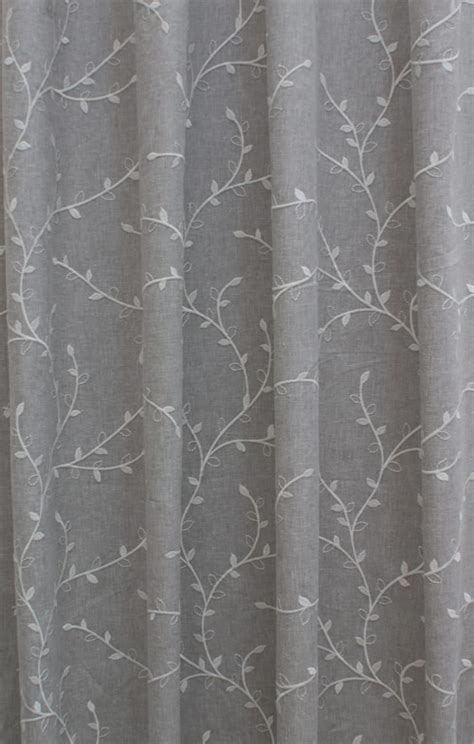 Fabrics For Curtains Uk by Delicate Silver Grey Curtain Fabric