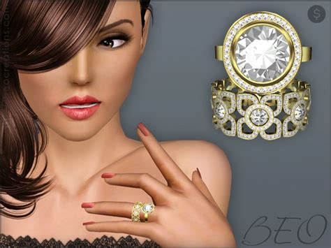 rings by beo pay sims 3 downloads cc caboodle custom content finds sims sims