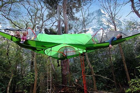 3 Person Hammock Tent by Hing Tents Lets Cers Sleep Among The Trees