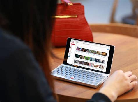 gpd pocket plein sur indiegogo pour le micro ordinateur portable