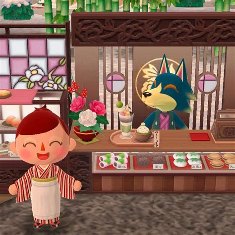 ポケ 森 和風 カフェ