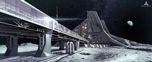 Lunar Base by simonfetscher on DeviantArt