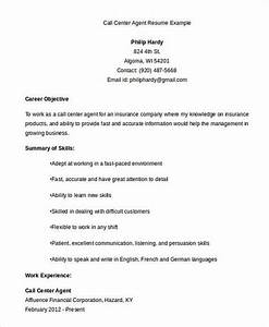 Call center resume the key success for the applicants for Call center resume