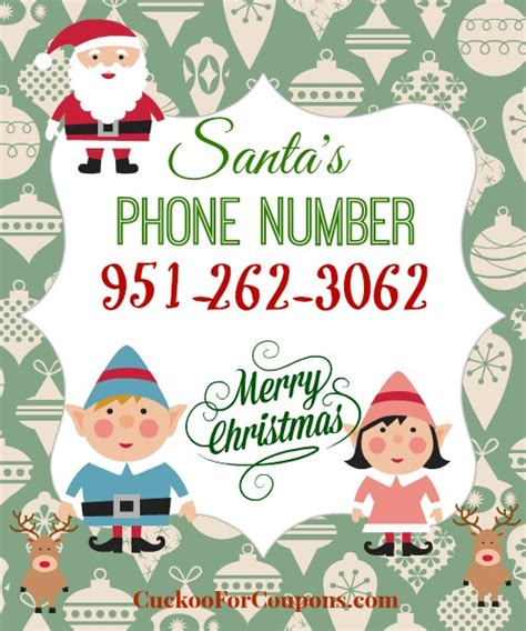 santa s real phone number free santa claus phone number