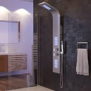 Wie Reinigt Man Backofen : duschpaneel aus edelstahl oder mit led ein highlight f r jedes bad ~ Markanthonyermac.com Haus und Dekorationen