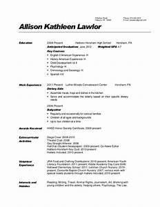 Dietary Aide Resume Description