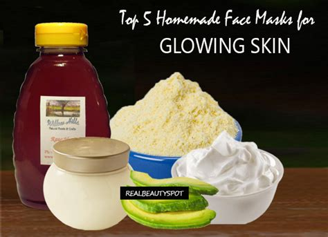 top  homemade face masks  glowing skin theindianspot