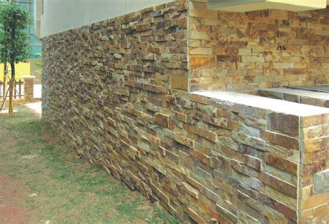 keuntungan dinding batu alam ornamen putih murah