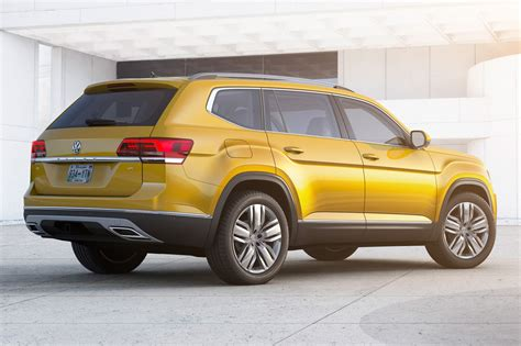 vw atlas seven seat vw atlas suv unveiled in the us by car magazine