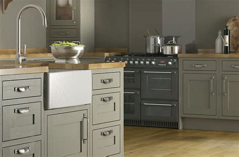 Kitchen Ideas B And Q by Cooke Lewis Carisbrooke Taupe Framed Kitchen Ranges