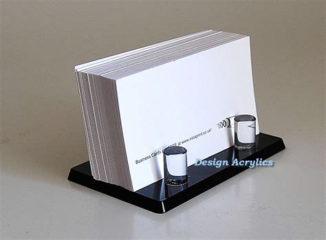 Black Acrylic Business Card Holder Post Modern Stylish Visiting Card Background Black And Red Eagle Business Box Bantex White With Bleed Template Blue Gift Does My Need An Address