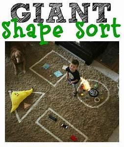 Indoor Aktivitäten Kinder : giant shape sort kigaideen punkteblatt pinterest ~ Eleganceandgraceweddings.com Haus und Dekorationen