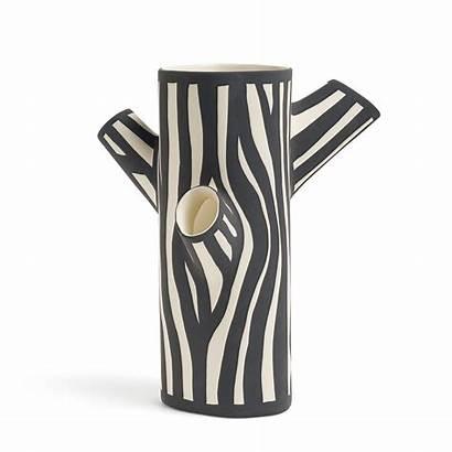 Hay Trunk Vase Tree Connox Vasen Weiss